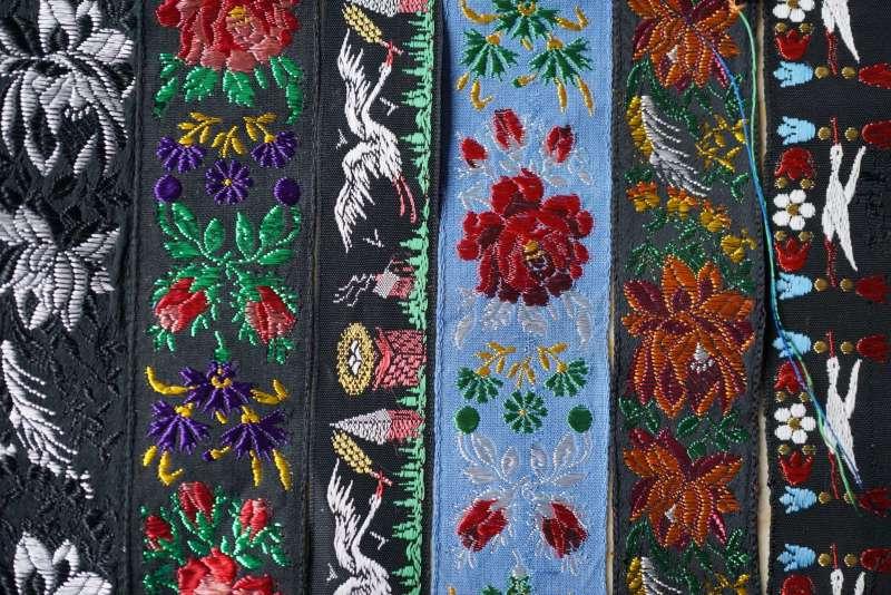 rubans en soie bannière