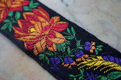Wayome Upcycling rubans en soie fleurs
