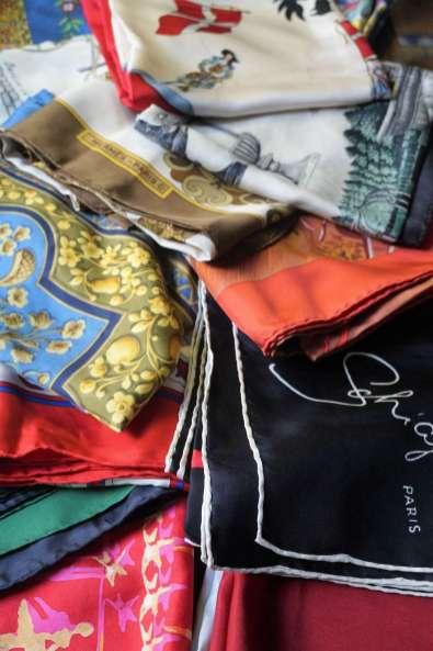 Wayome Upcycling de la soie et encore de la soie créateurs soie haute couture