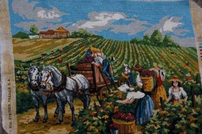 Wayome Upcycling petit florilège de canevas paysans