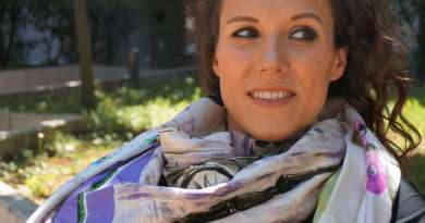 Wayome upcycling Mon foulard rose et violet préféré image une