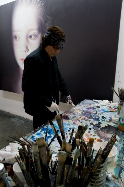 Gottfried Helnwein - Oil and acrylic on canvas 2