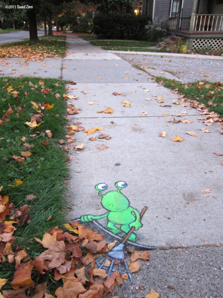 lazy_leafraker_by_david_zinn