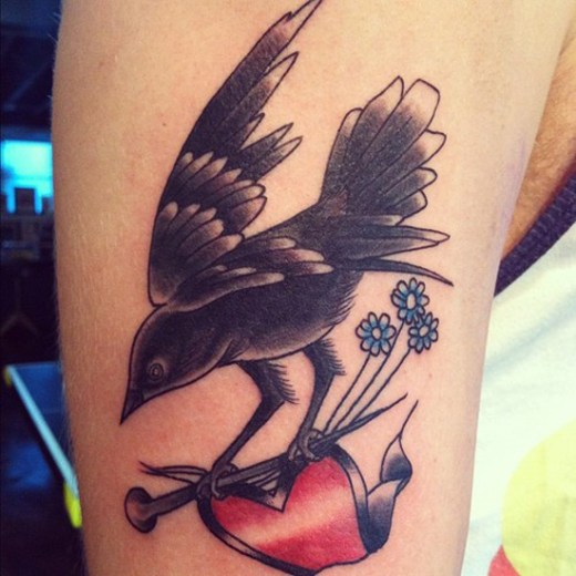 Bird Tattoo Designs 4