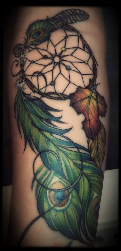 Dreamcatcher Tattoos 12