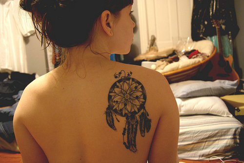 Dreamcatcher Tattoos 2