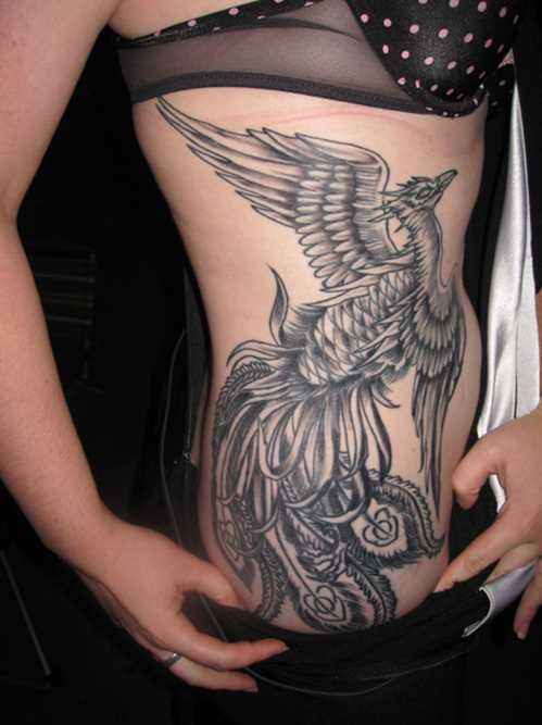 Girls side tattoos 6