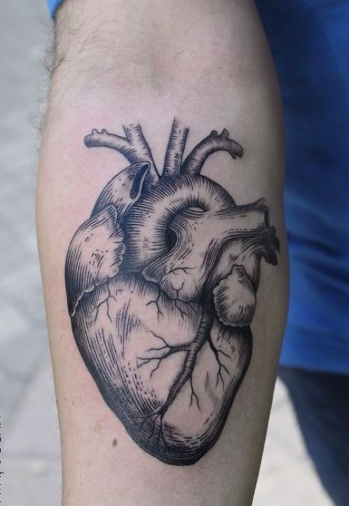 Heart tattoo5