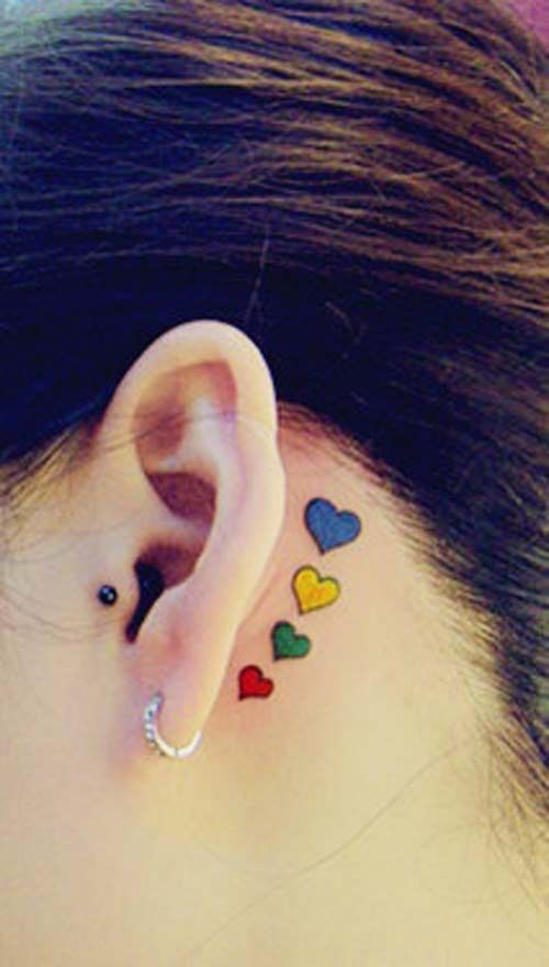 Heart tattoo6