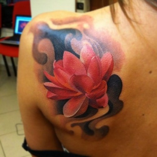 Lotus Flower Tattoo12