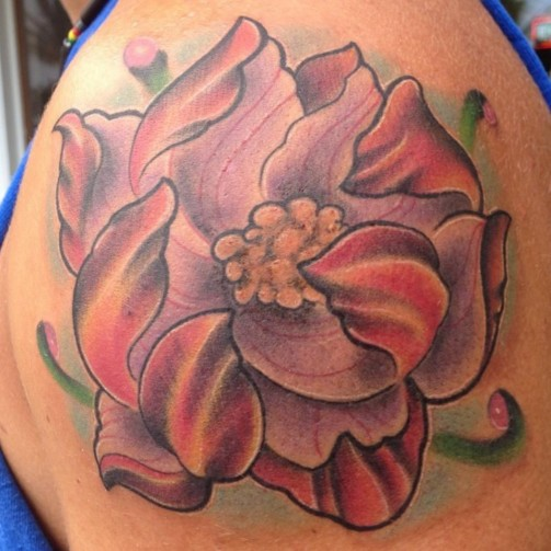 Lotus Flower Tattoo9