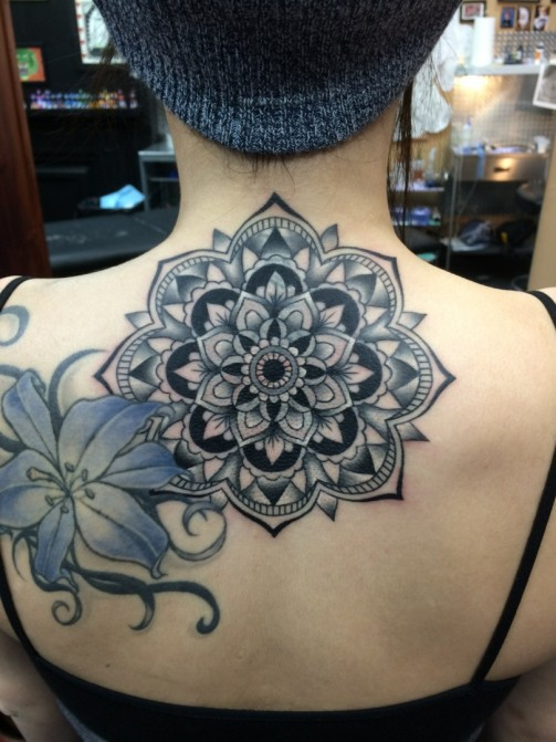 Mandala Tattoo12