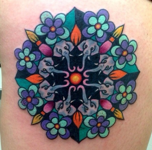 Mandala Tattoo18
