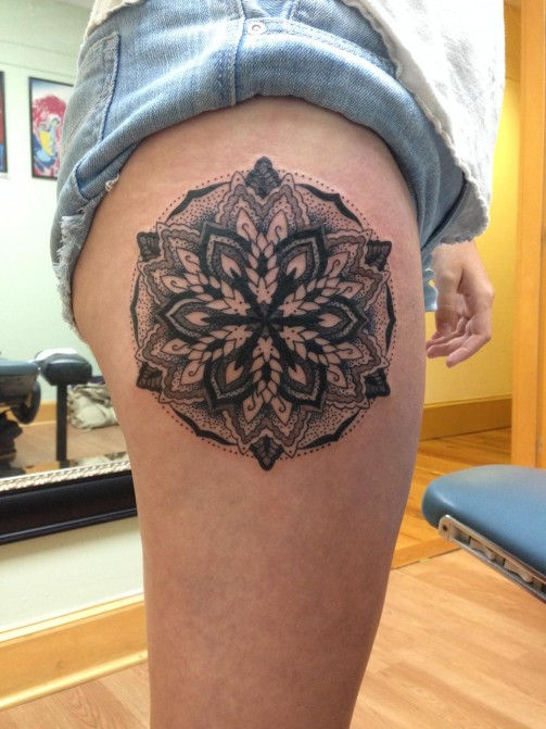Mandala Tattoo19