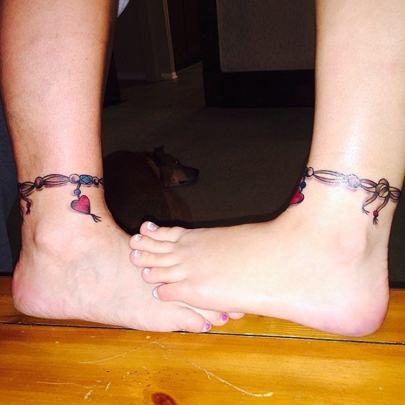 Mother daughter tattoo9