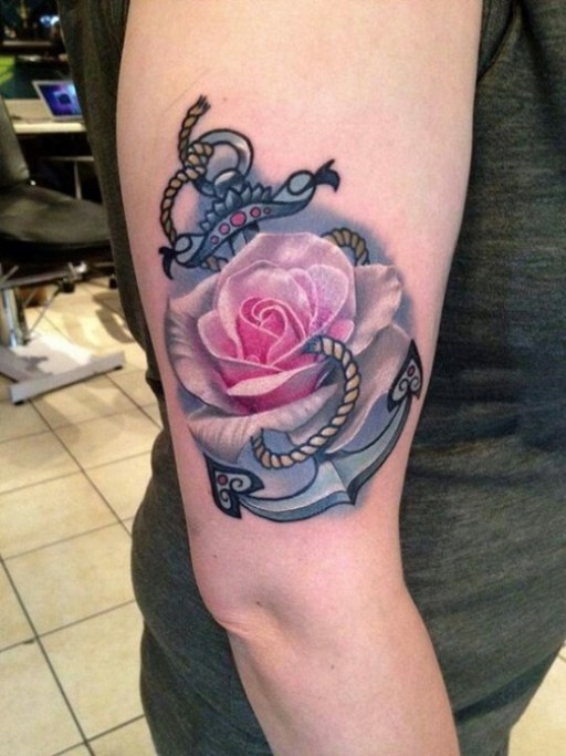 anchor tattoo14