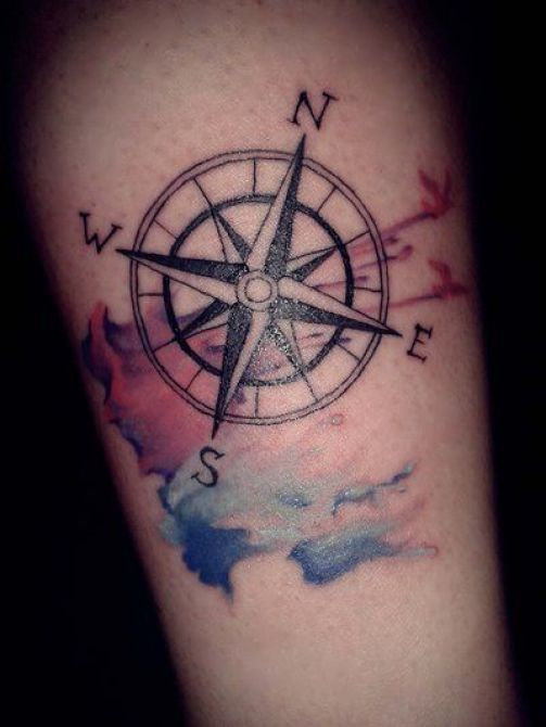 compass-tattoo-design 20