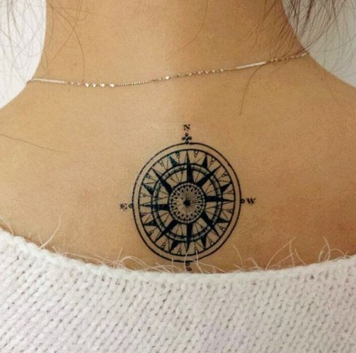 compass-tattoo-design18