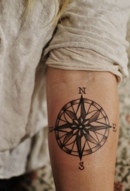 compass-tattoo-designs-3