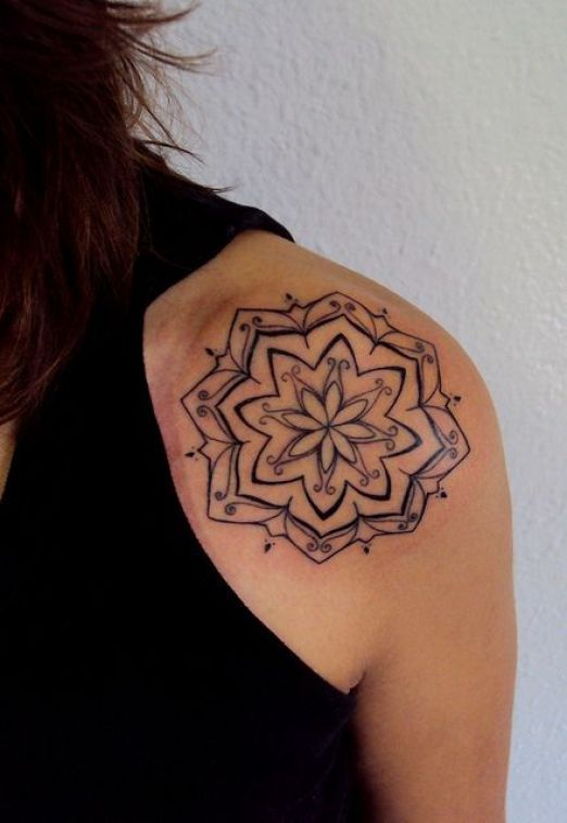 mandala tattoo 13