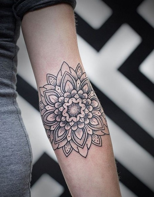 mandala tattoo 2