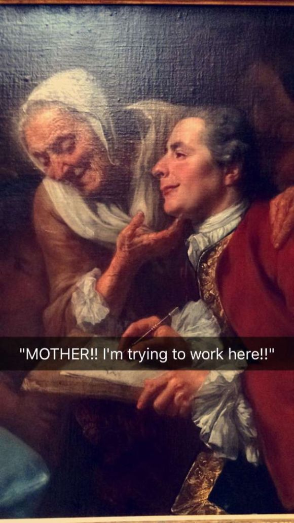 classic funny painting 5