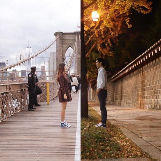 long-distance-relationship-korean-couple-photo-collage-half-shiniart 13