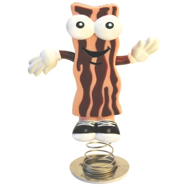 A bacon dancer for your dashboard.