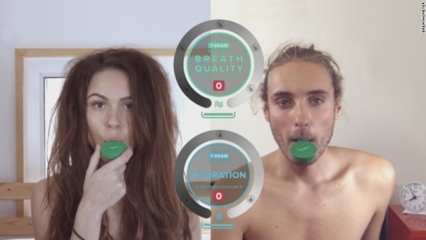 A hygiene breathalyzer that'll let you know if you need a mint or to brush your teeth.