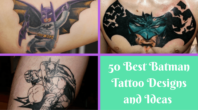50 Best Batman Tattoo Designs and Ideas