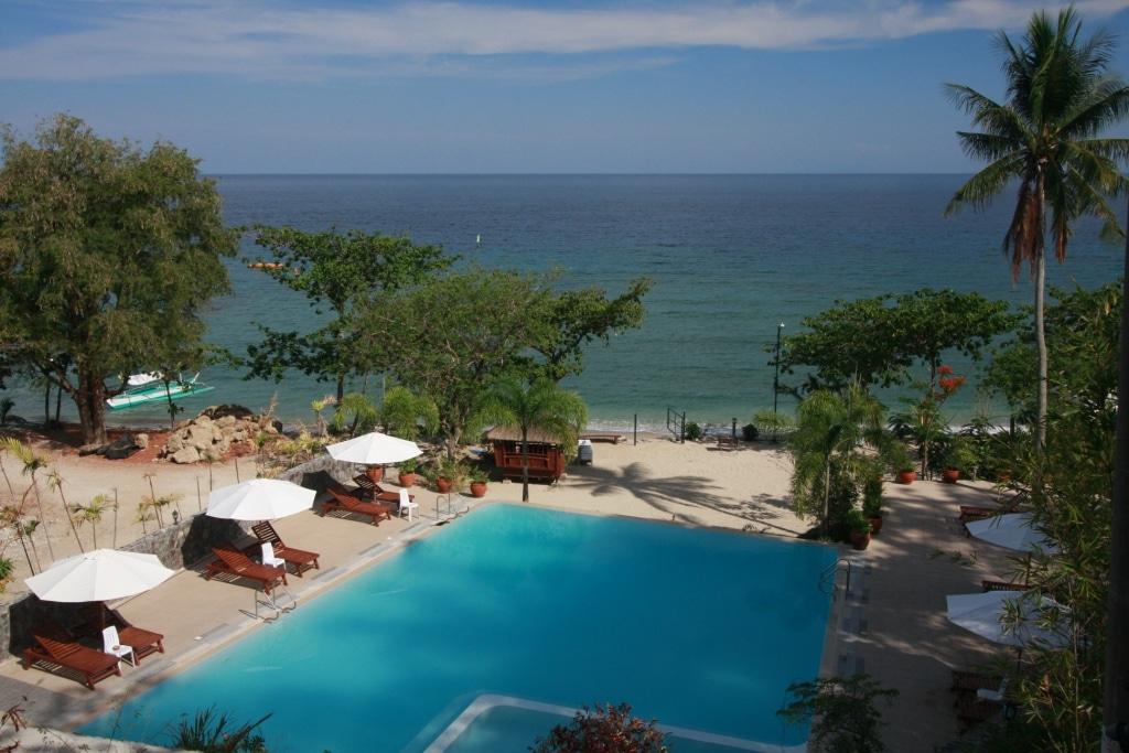 Palm beach resort san juan batangas for Batangas beach and swimming pool resort