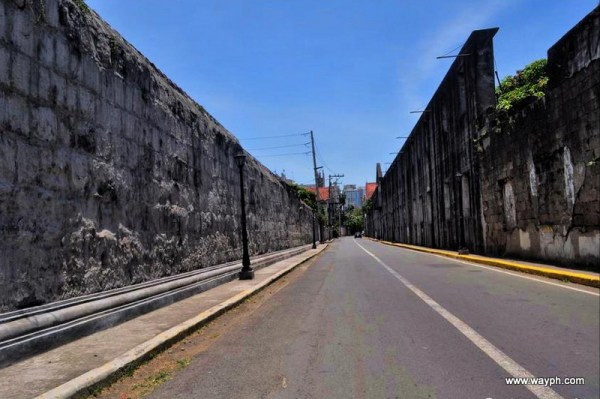 Walking in Intramuros