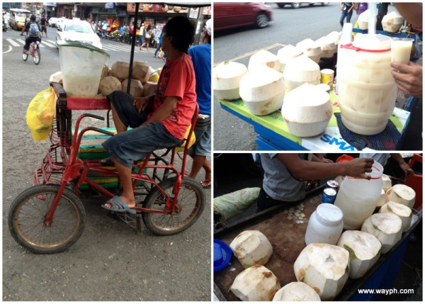 Buko Juice Pinoy Street Foods