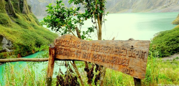 Pinatubo sign