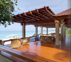 Luxury beach resort