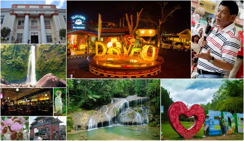 Davao Tourist Destination And Its Attraction Shadow