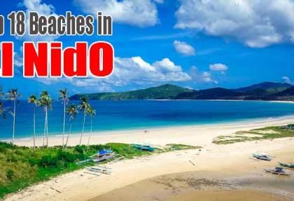Beaches in El Nido