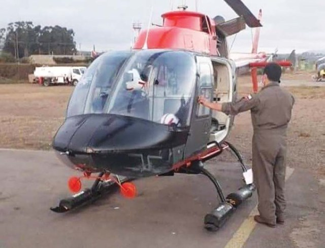 Mid Air Helicopter