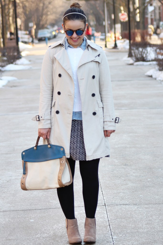 Layering some of my favorite pieces to create a classic winter look