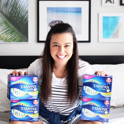 WHY I'M BUYING MY TAMPAX PEARL ON AMAZON