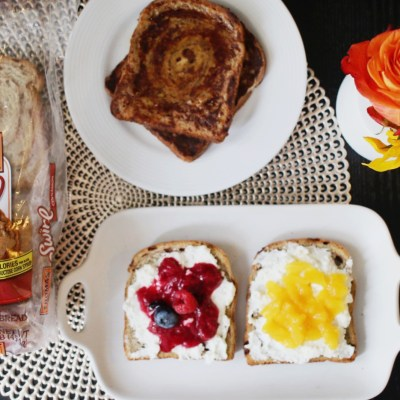 3 delicious and healthy ways to enjoy Thomas' Cinnamon Swirl Bread