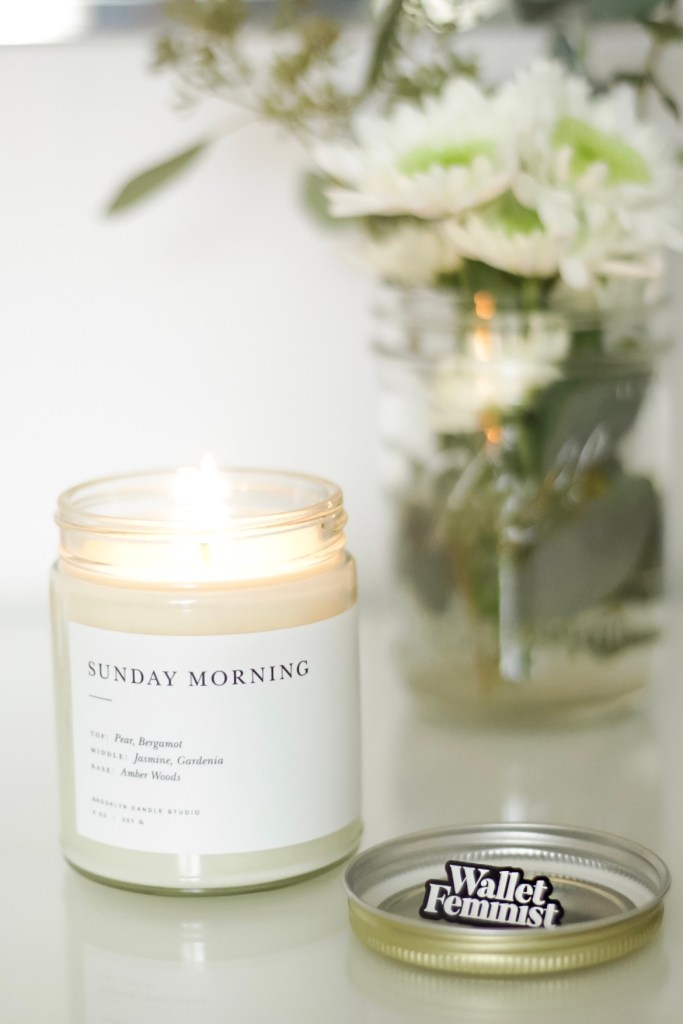 How to empower women - Support women owned businesses like Brooklyn Candle Studio