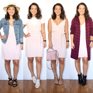 one spring dress four different looks for spring