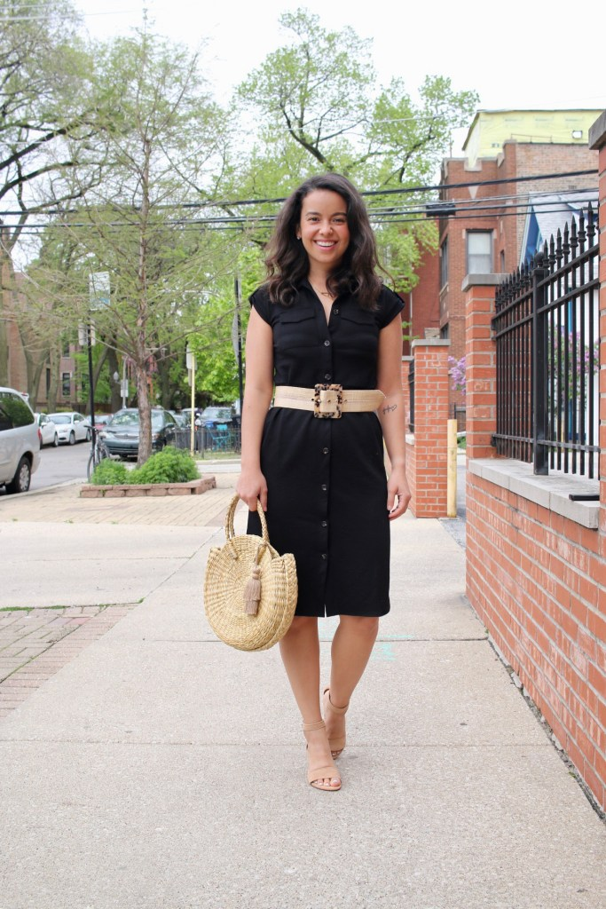 How to accessorize a Black Dress for summer