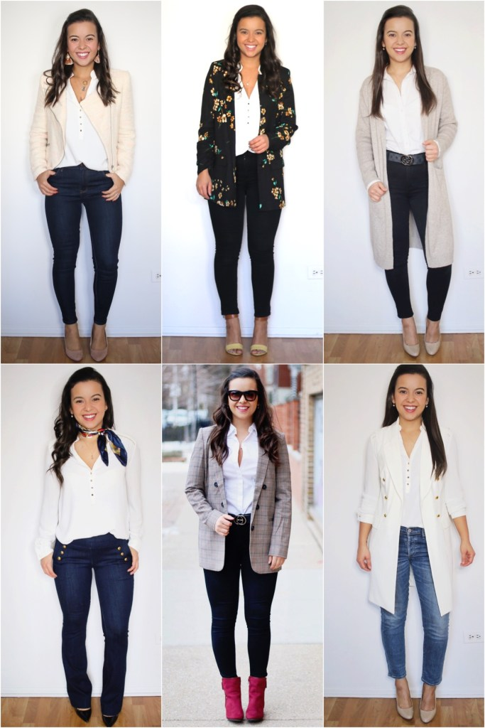 How to style a white shirt for the office - 6 looks