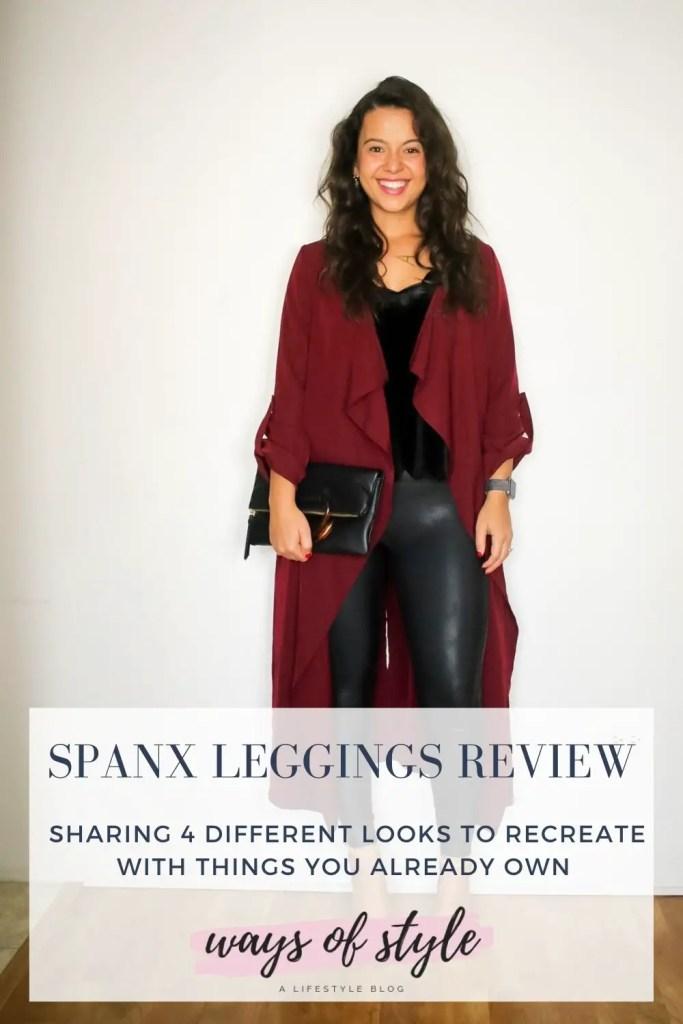Spanx leggings review