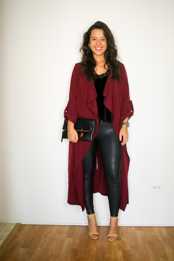 Spanx leggings outfit ideas for date night