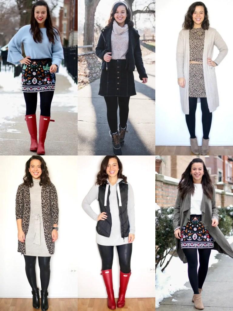 Minimalistic wardrobe for Winter 2021