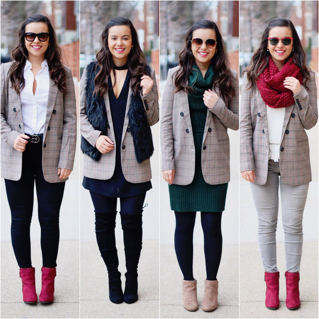 winter outfit ideas - office capsule wardrobe