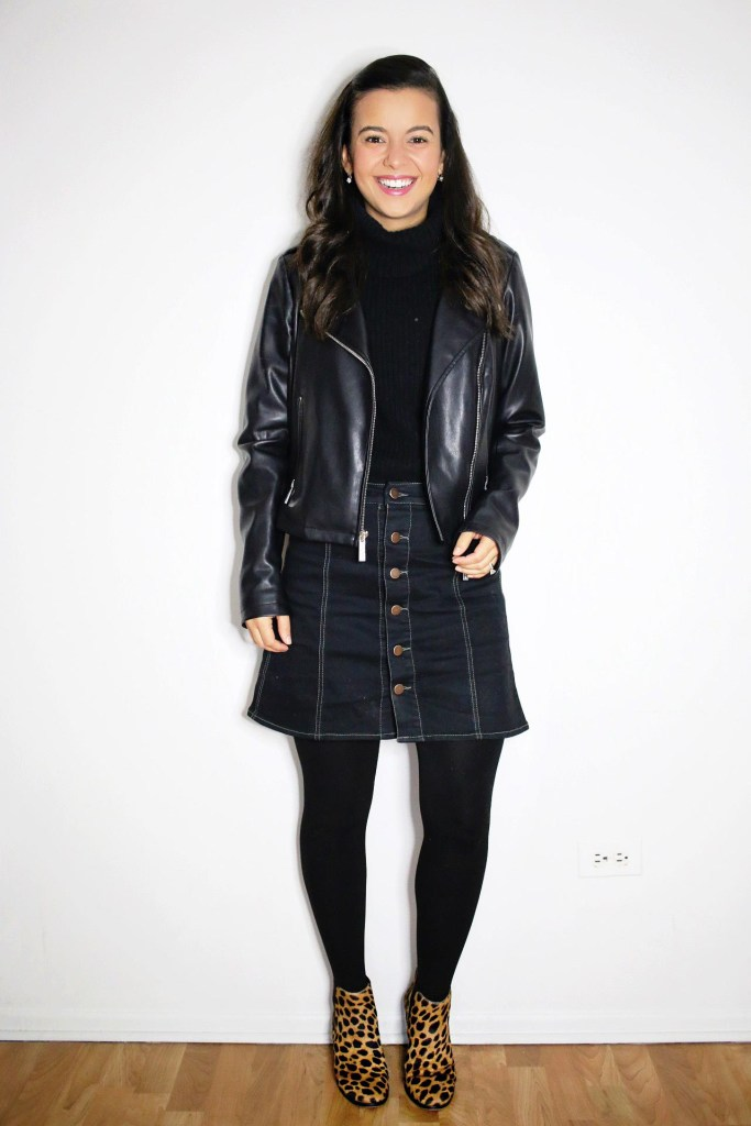 How to wear a leather jacket